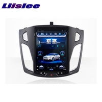 LiisLee Car Multimedia Player GPS Radio Navigation For Ford For Focus MK3 2011~2017 Original Factory Style Audio NAVI