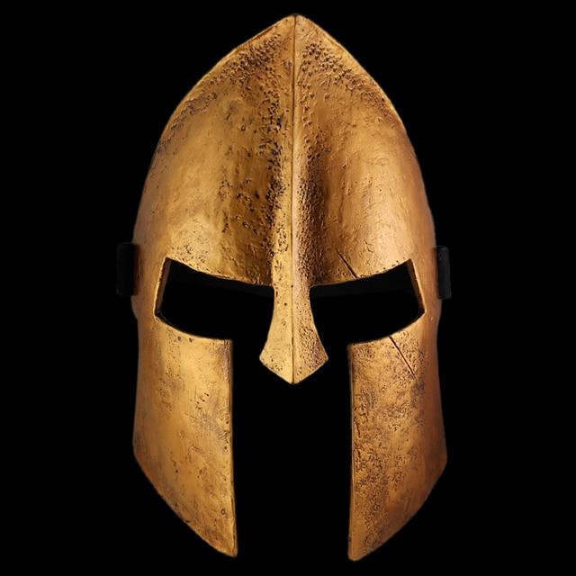 Free delivery Spartan helmet 300 Warrior mask dance movie