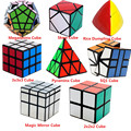 8 PCS 3x3x3 2x2x2 Magic Speed Cube Professional Pyraminx Megaminx Mirror Cube Children Kids Toy Brain Tester Magico Cubo