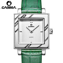 Casima Роскошные Брендовые женские часы браслет с кристаллами