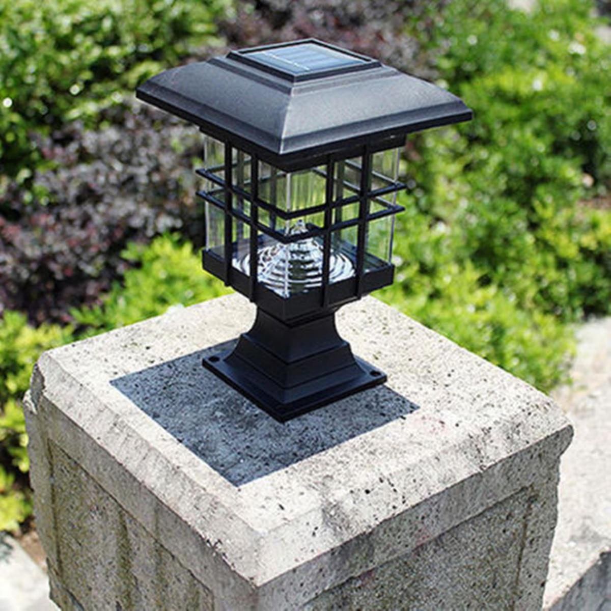 Palace Lantern LED Solar Powered Outdoor Lighting Garden Yard Landscape Light Gardening Pathway Decoration Light Sensor Lamps