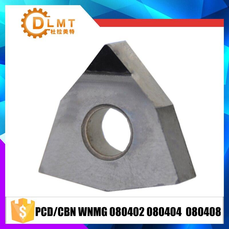 2pcs WNMG080408 PCD// WNMG432 PCD for Aluminum  INSERT Diamond carbide bits