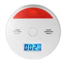 Новинка, 1 шт., для безопасности дома, Высокочувствительный ЖК-дисплей, CO, датчик, сигнализация Предупреждение ющий детектор, тестер