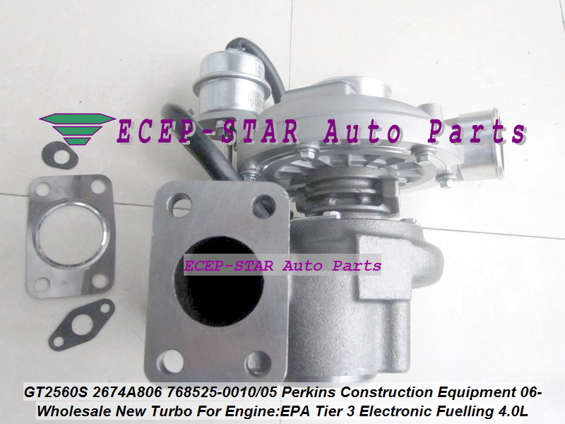 Free Ship GT2560S 785828 768525-0010 785828-0005 2674A806 2674A812 Turbo For Perkin Construction EPA Tier 3 Electronic Fuelling