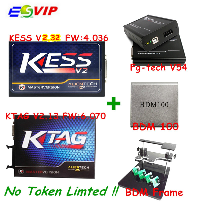 Newest Kess V2 V2 3 4 036 OBD2 Manager K TAG 2 13 FW 6 070