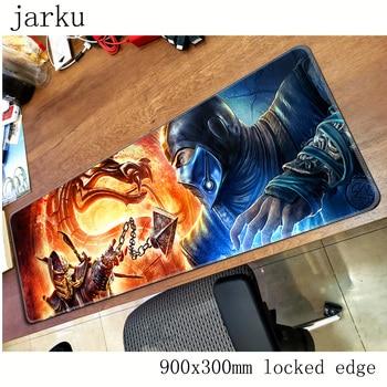 mortal kombat pad mouse computador gamer mause pad 900x300X2MM padmouse HD pattern mousepad ergonomic gadget office desk mats