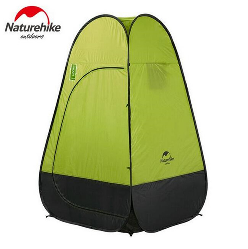 Naturehike Outdoor Tent Dressing Changing Toilet Auto Open Portable Tents For Camping Beach Shower Lightweight Fishing Tenda outdoor double layer 10 14 persons camping holiday arbor tent sun canopy canopy tent
