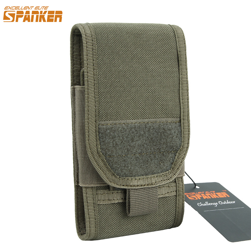 EXCELLENT ELITE SPANKER Tactical Molle Hunting Bag Military Waist Pouch Holster Nylon Pouch  Phone 5.5 Universal VersionEXCELLENT ELITE SPANKER Tactical Molle Hunting Bag Military Waist Pouch Holster Nylon Pouch  Phone 5.5 Universal Version
