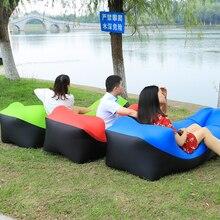 Lazy Bag Inflatable Sofa Outdoor Sleeping Bag Air Sofa Beach Bed Air Lounger Chair Portable Picnic Mat Pad Air Mattress