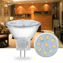 4Pcs Mr11 LED Light Bulb 35mm Diameter 2W 3W 4W AC DC 24V Bright Mini 5733 SMD Ceiling Spotlight Lamp