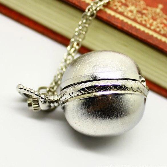 все цены на  White Retro Alloy Quartz Necklace Pocket Watch Block Watch with Chain Belt LXH  онлайн