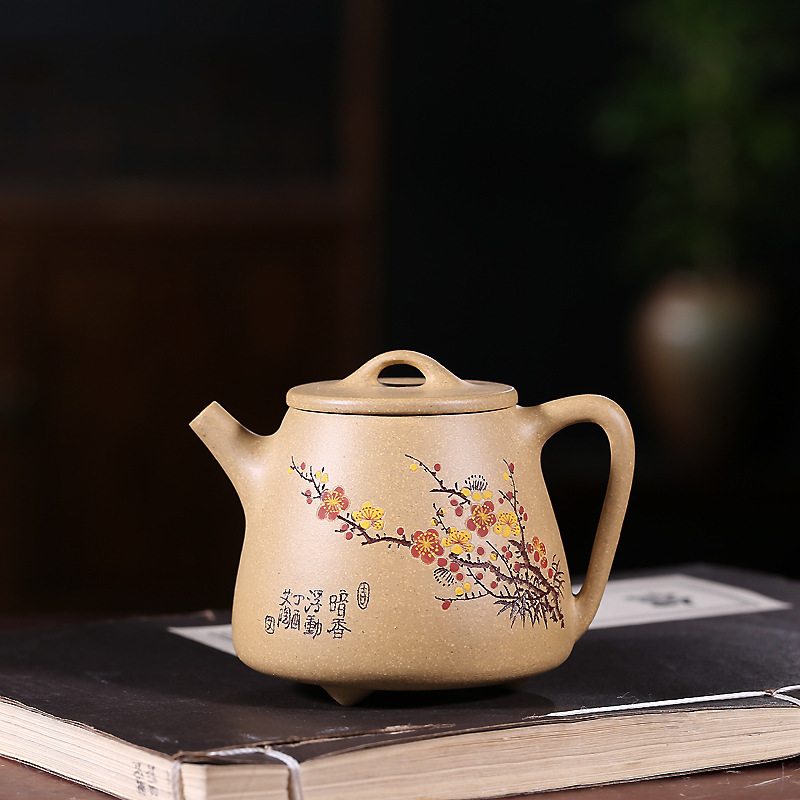 Authentic yixing crafts are recommended by hand wholesale fragrance gourd ladle of kaolinite ore mud agents to joinAuthentic yixing crafts are recommended by hand wholesale fragrance gourd ladle of kaolinite ore mud agents to join