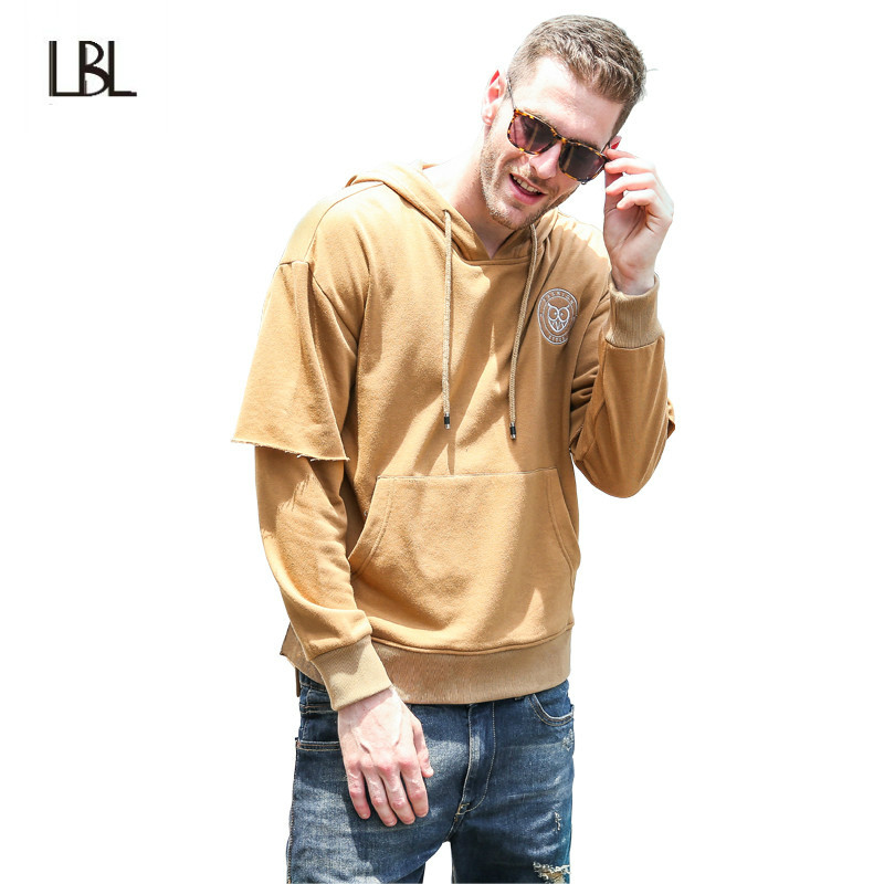 Russia Size New Fashion Casual Mens Black Hoodie Men Sweatshirts 2017 Male Long Sleeve Zipper Hooded Jackets Sweatshirts Men