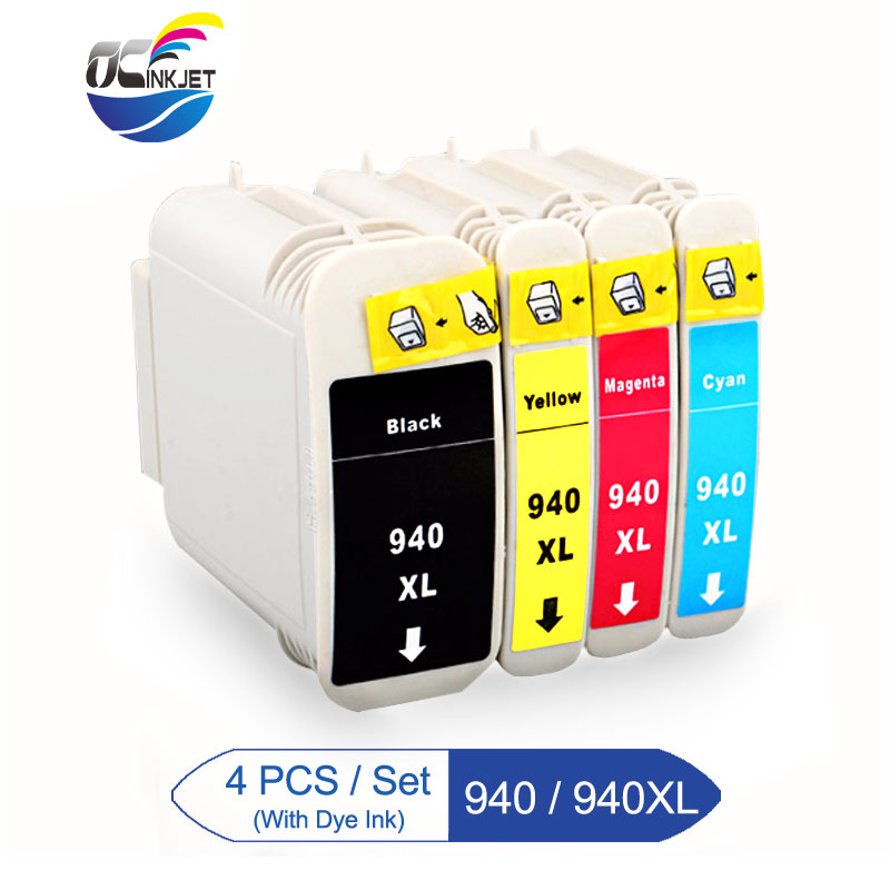 Third Party For HP 940 XL <font><b>940XL</b></font> Remanufactured Ink Cartridge With Quality Ink For HP Officejet Pro 8000 8500 8500A A909g Printer image