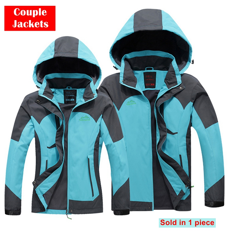 2017 New Designer Autumn Winter Outdoor Men Sports Windproof Climbing Coats Women Couple Models Sportswear Hiking Jackets Women mulinsen new 2017 autumn winter men