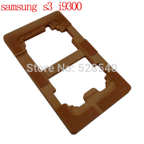 1PCS refurbishment mould mold for samsung galaxy s3 i9300 lcd touch screen repair mold for iphone 4 4s lcd touch panel screen assembling mould refurbishment mold
