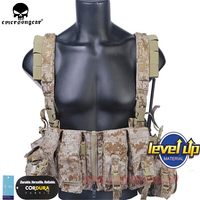 Navy Seals Tactical LBT 1961A R Load Bearing Chest Rig Multicam Tropic LBT 1961A R Carrier Vest w/ Zipper & M4 Magazine Mag