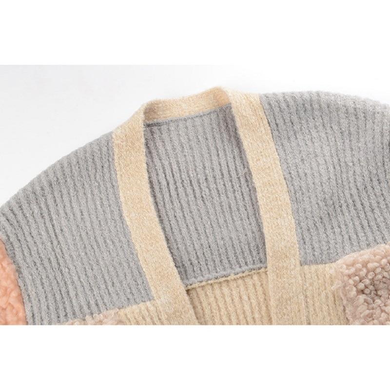 Tricoter Manches Cardigan Haute Manteaux Automne À Bloc Couleur De 2019 Printemps Chandail Casual Femme Femmes Qualité Longues fwEq7wRxO