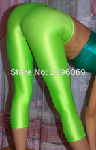 LG56 Unisex Lycra Spandex Tights Solid Color Opaque Zentai Legging Fetish Wear Customize Size