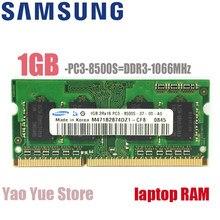 Samsung Laptop Notebook 1GB 2GB 1G 2G PC3 8500S 10600S 12800S DDR3 1066 mhz 1333Mhz 1600Mhz ECC modülü bellek 1333 1600 RAM