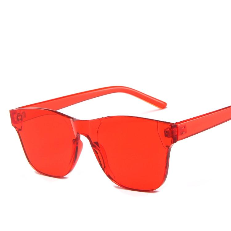Hot Selling Jelly Tinted Jumpsuit Sunglasses 2019 009 Stylish Ocean Sunglasses Metallic Hinged Sunglasses