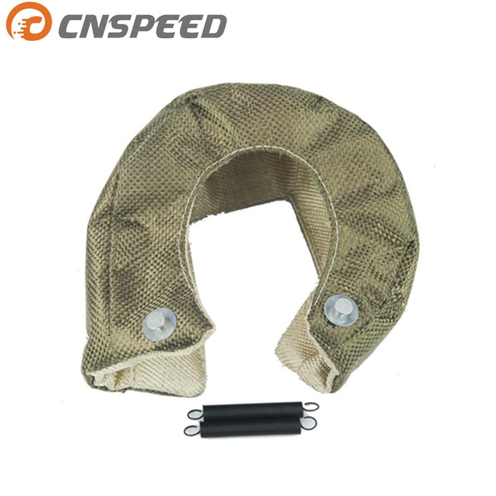 CNSPEED Titanium T3 Turbo Blanket heat shield barrier 1800 Degree Temp Rating Turbo Blanket Cover fit T2 T25 T28 GT28 GT30 GT35