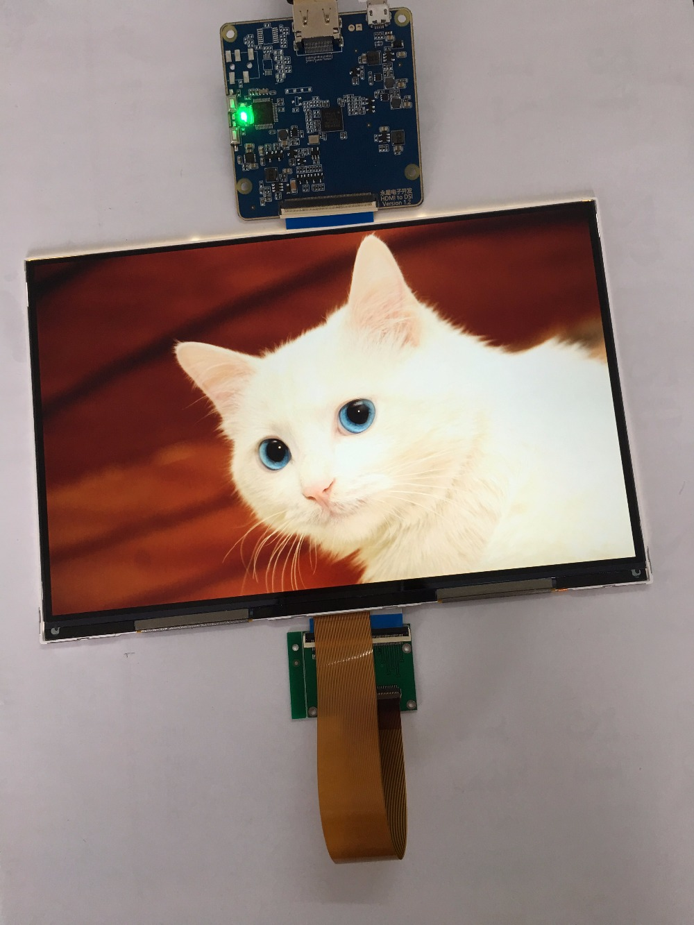 8.9 inch LCD display module 2K 2560*1600 MIPI interface 1200:1 C/R 60Hz display screen with driver board