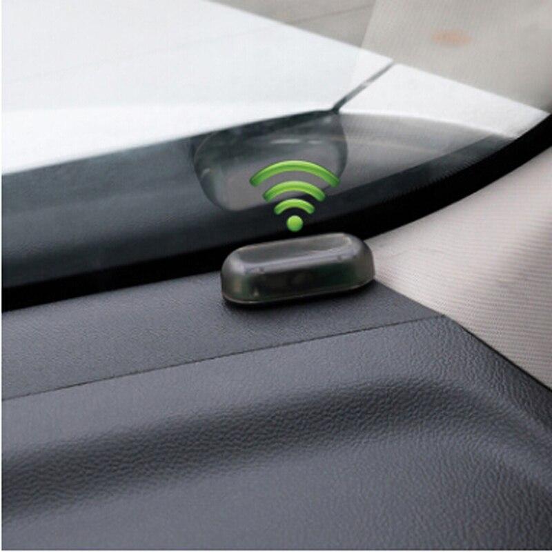 1 шт. Автомобильная сигнализация на солнечной энергии, система безопасности Предупреждение кражу вспышка для BMW X1 X3 X4 X5 X6 M M3 M5 G30 F09