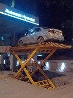 2018 Sinofirst hydraulic electric scissor car parking lift