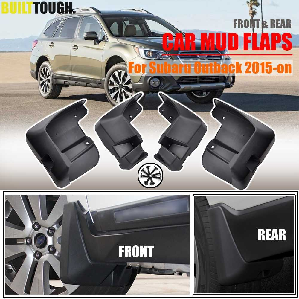 Car Mudflaps For Subaru Outback 2015 -on Mud Flaps Splash Guards Mudguards Front Rear Fender Protector 2016 2017 2018 2019 2020