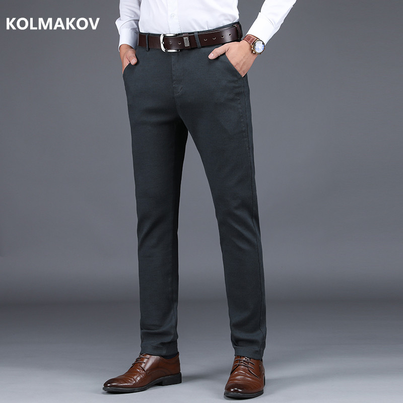 2019 new arrival spring classic cotton trousers high quality smart casual men 39 s pants men 39 s. Black Bedroom Furniture Sets. Home Design Ideas