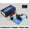 Laser especial Rear Fog lâmpada para Citroen C4 / C - Triomphe / C - Quatre / Sega / à prova d ' água cauda traseira do carro colisão - luzes de advertência