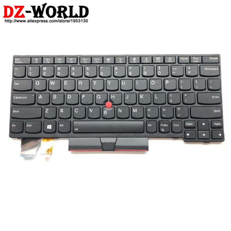 New Original for Thinkpad X280 Backlit Keyboard US English Backlight Teclado 01YP120 SN20P33831 01YP040 01YP200 new original for lenovo thinkpad e560p s5 us english backlit keyboard backlight teclado 00ur628 00ur591