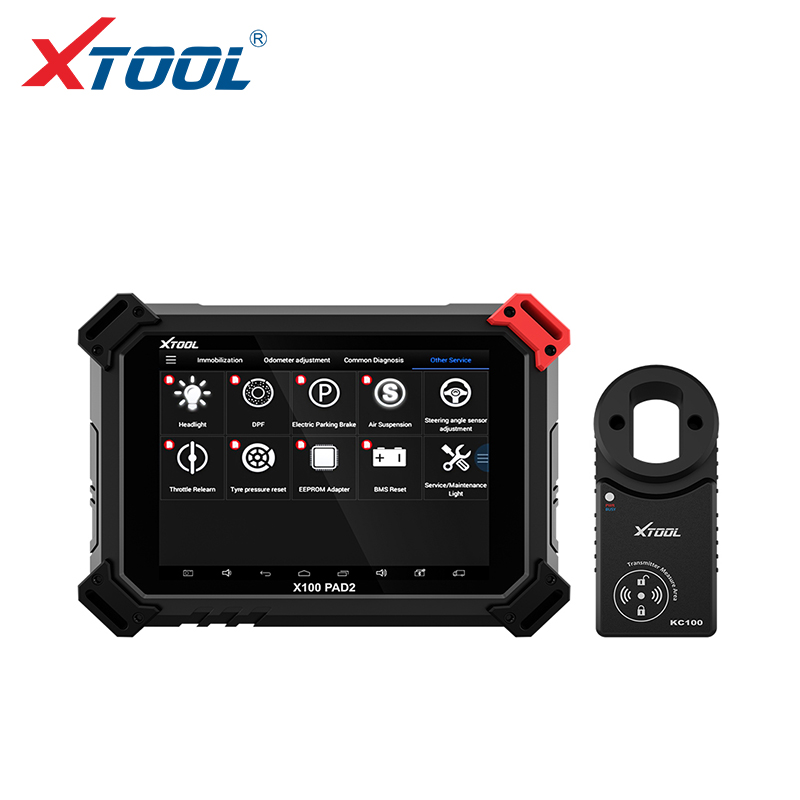 XTOOL X100 PAD2 PRO Auto key programmer odometer adjustment OBD2 car diagnostic tool professional Immobilizer for