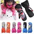 Children Winter Warm Ski Gloves Boys/Girls Outdoor Sports Waterproof Snow Mittens