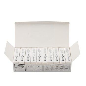 Justfog – bobine de remplacement pour Cigarette électronique, 50 pièces/lot, 1,2 ohm, 1,6 ohm, tête de noyau adaptée au Kit C14 Q14 Q16 P16A P14A