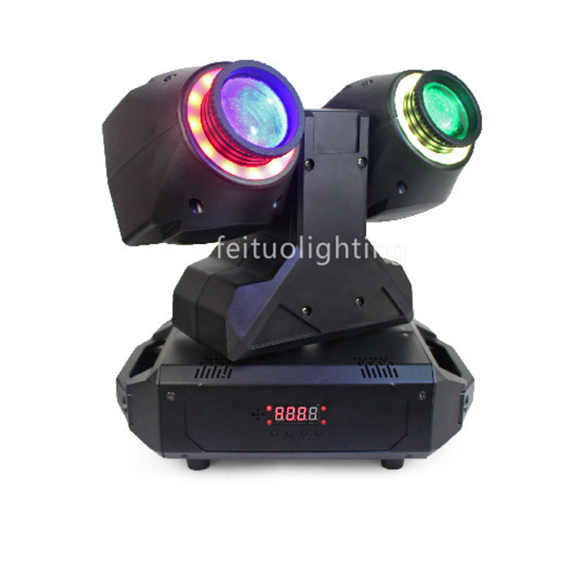 2019 New 2x30w RGBW 4in1 Led Moving Head Beam Lyre + 2x12 Led Strip DMX Stage Light X Axis Infinite Rotating Mobile Head Beam2019 New 2x30w RGBW 4in1 Led Moving Head Beam Lyre + 2x12 Led Strip DMX Stage Light X Axis Infinite Rotating Mobile Head Beam