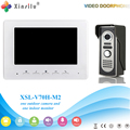 Xinsilu V70H-M2 Doorbell Camera With 4.3inch Door Viewer Indoor Monitor Out Door Phone Bell Video Photo IR Voice Unlock