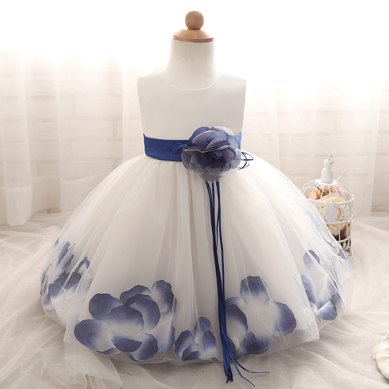 1 Year Old Baby Girl Dress Princess Wedding Birthday Formal 2017 Toddler Clothes Christening Gowns Vestido Bebe