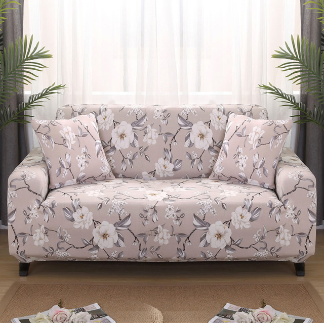Universal 1/2/3/4 seater universal sofa cover stretch seater covers Couch cover Loveseat sofa Funiture home Christmas decoration