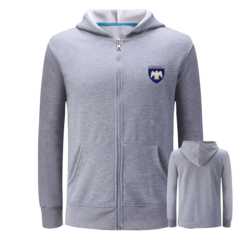 Maison Cootton Capuche Game Polaire Hiver Arryn Symbole Unisexe À Hoodies Conception Of wl2155miw Automne Targaryen Wl2155mig Sweat Manteau wl2156mig Thrones wl2156miw Zip gAC8wtq