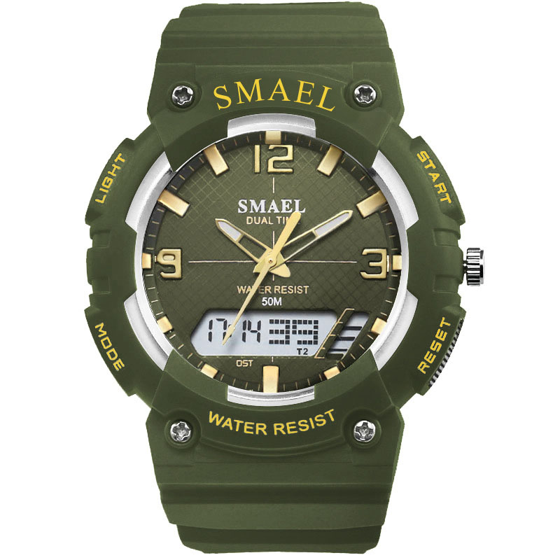 SMAEL Digital Watches Kids Dive 50M Water Resistant Wrist Watch Children S Shock Watch 0508 LED Clock Kids Sport Watch for Boys