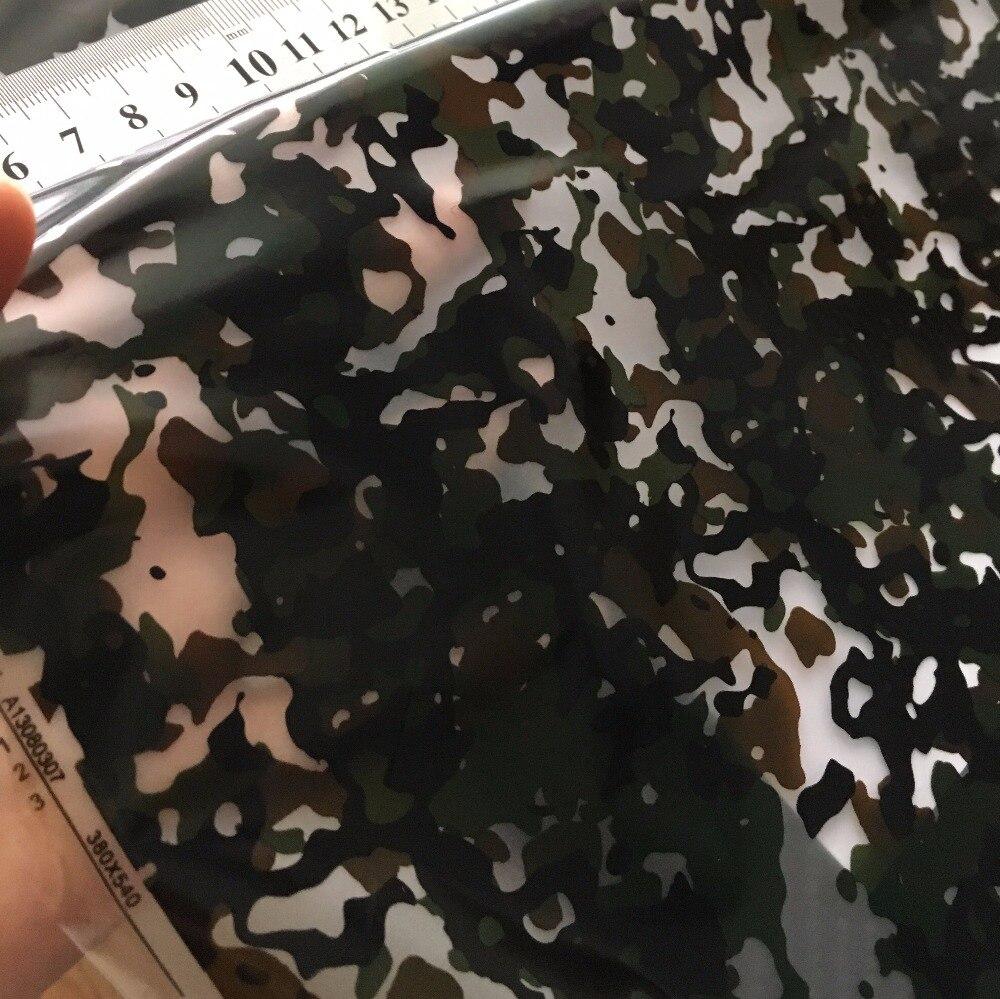 Высококачественный классический камуфляжный рисунок гидрографикой, пленка для переноса воды, 0,5 м x 20 м, декоративные материалы. HFJ056