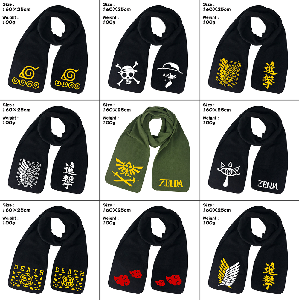 Novelty & Special Use Reliable Anime One Piece Monkey D Luffy Scarf Trafalgar Law Man Women Unisex Cartoon Wrap Shawl Bufanda Cosplay Props Gift Kids Costumes & Accessories