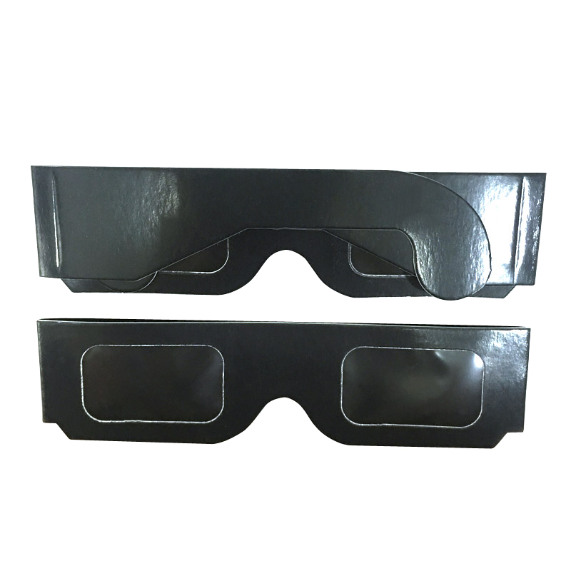 500pcs Wholesale 3D Paper Solar Eclipse Glasses Safe Eclipse Viewing Glasses in 3D Glasses Virtual Reality Glasses from Consumer Electronics