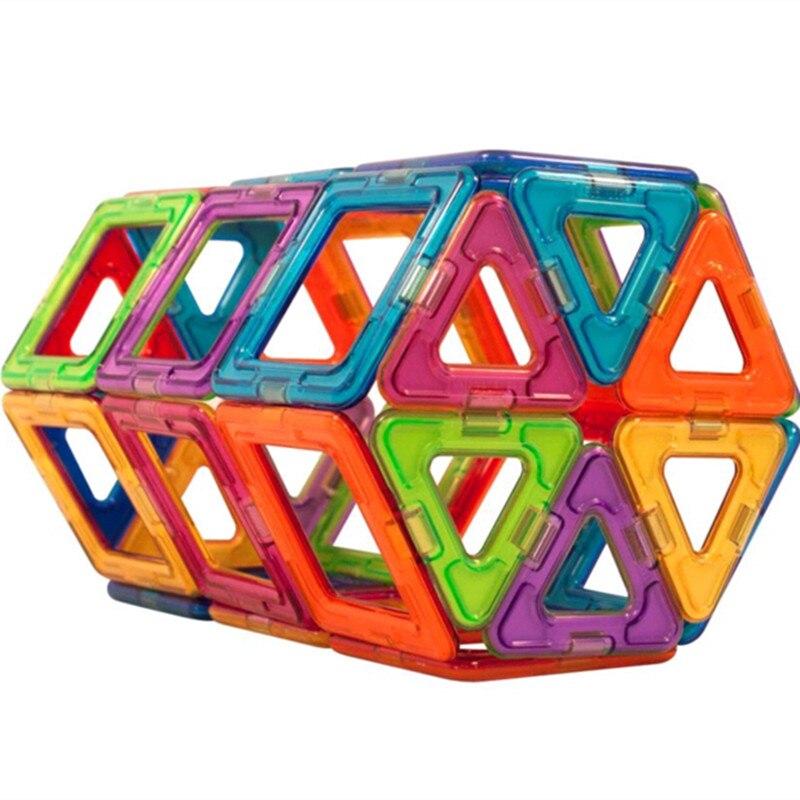66 pcs 블록 큰 크기 디자이너 건설 모델 빌딩 장난감 플라스틱 마그네틱 블록 교육 완구 어린이 선물-에서블록부터 완구 & 취미 의  그룹 3