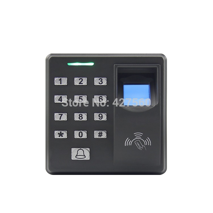 Brand New Biometric Fingerprint Door Access Control System + 125HZ RFID keypad for Entrance guard get 10 piece ID keyfob free metal fingerprint standalone biometric fingerprint access control system for school gate hotel apartent office