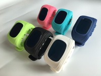 Téléphone intelligent Montre Enfants Enfant Montre-Bracelet G36 Q50 GSM GPRS GPS Locator Tracker Anti-Perte Smartwatch Enfant Garde pour iOS Android