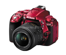 Original Nikon D5300 Digital SLR 24.2MP RED Camera Body & AF-S 18-55mm II VR Lens ( Japan Version )