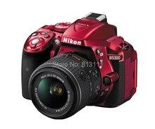 เดิมNikon D5300ดิจิตอลSLR 24.2MPสีแดงกล้องBody & AF-S 18-55มิลลิเมตรII VRเลนส์(ญี่ปุ่นรุ่น)